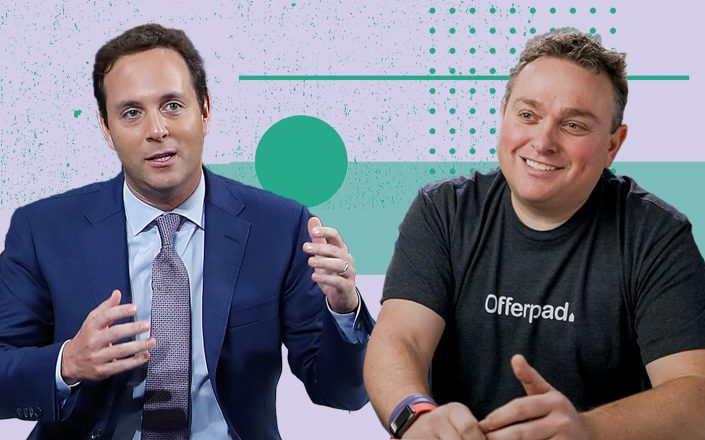 Spencer Rascoff and Offerpad CEO Brian Blair (Getty, Offerpad)