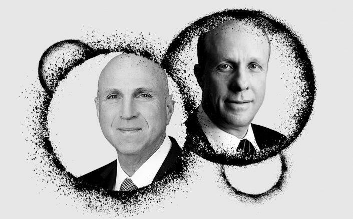 Oaktree Capital CEO Jay Wintrob and Cerberus Capital CEO Steve Feinberg (Oaktree, Cerberus, iStock)
