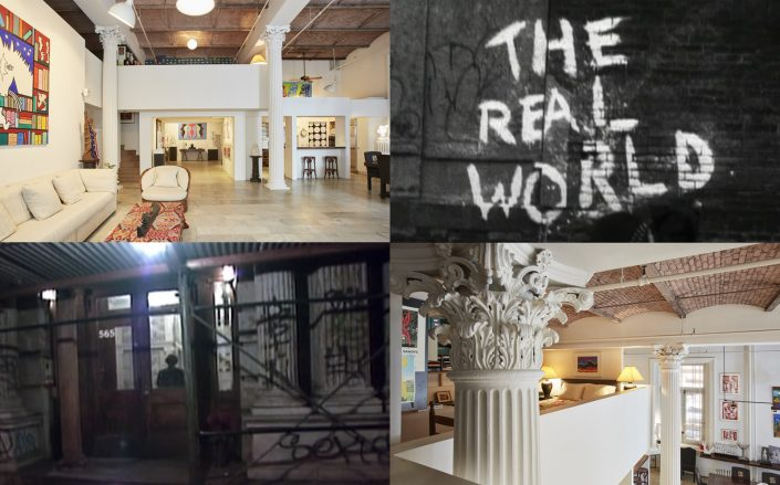 The first season of The Real World was set in this iconic Broadway loft. (Brown Harris Stevens, MTV Vault via YouTube)