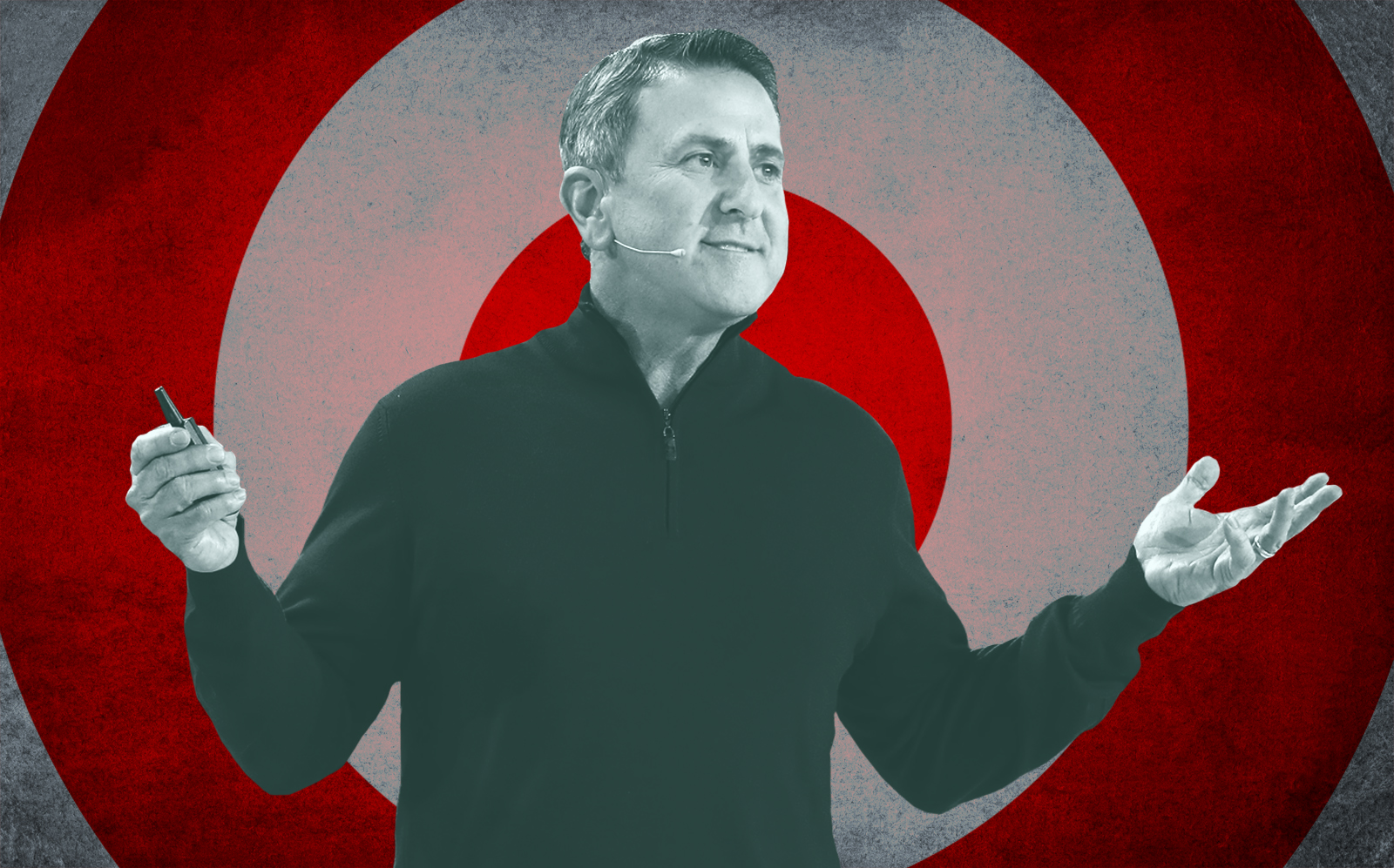 Target CEO Brian Cornell. (Getty)