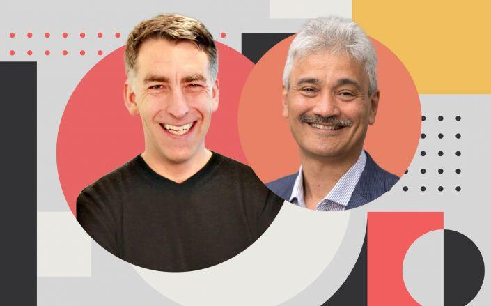 Redfin CEO Glenn Kelman and RentPath CEO Dhiren Fonseca (Redfin, Rentpath, iStock)