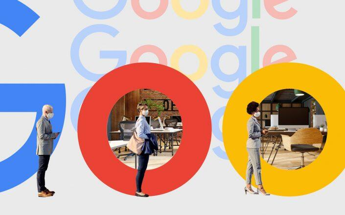 The announcement makes Google one of several tech companies that will let workers return to the office sooner than later. (iStock, Google)