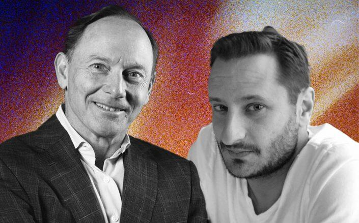 HomeX founders Michael Lerner and Vincent Payen (HomeX)
