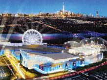 Rendering of the American Dream project in the Meadowlands
