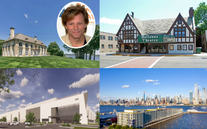 New Jersey Bon Jovi Mansion Bellevue Theater Luxury Rentals