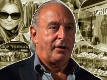 Arcadia Group CEO Philip Green (Credit: Getty Images, Wikipedia, Pixabay)