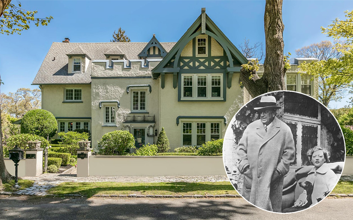 William Randolph Heart, Marion Davies and 7 Upper Drive (Getty, Elliman)