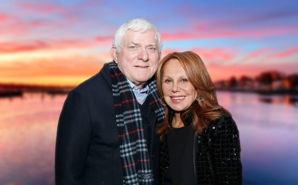 Phil Donahue and Marlo Thomas (Credit: Cindy Ord/Getty Images)