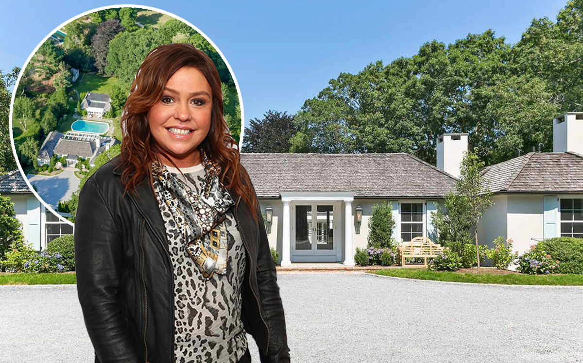 Rachael Ray and herSouthampton home (Getty, Sotheby's)
