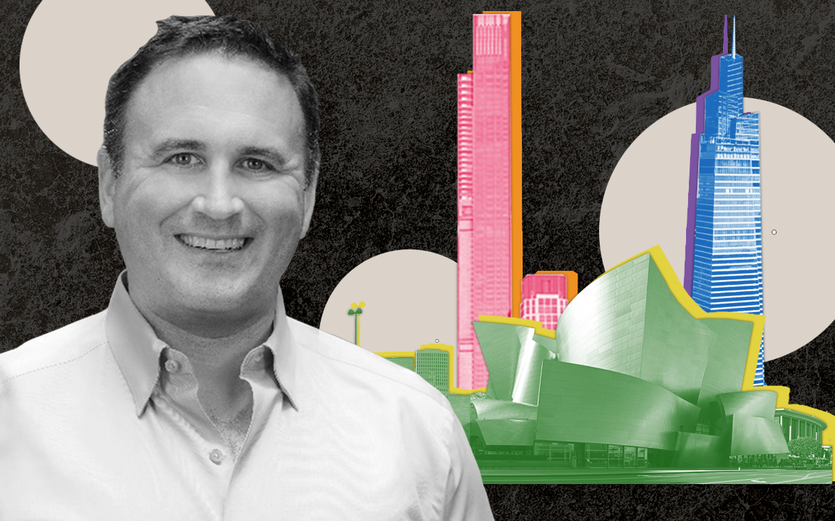 Timothy Fazio with Central Park Tower, One Vanderbilt and Walt Disney Concert Hall (UPenn, Wikipedia)
