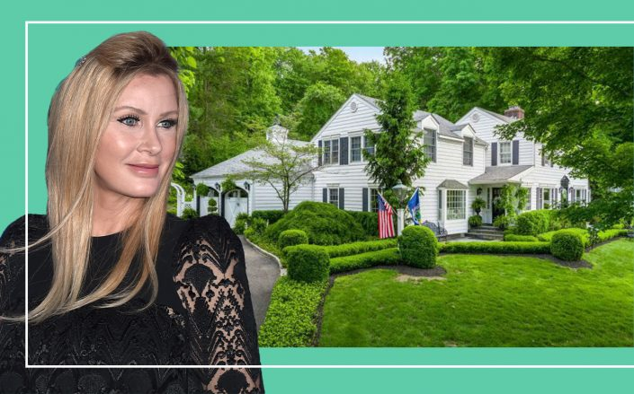 Sandra Lee and the Mount Kisco home in Westchester home (Getty)