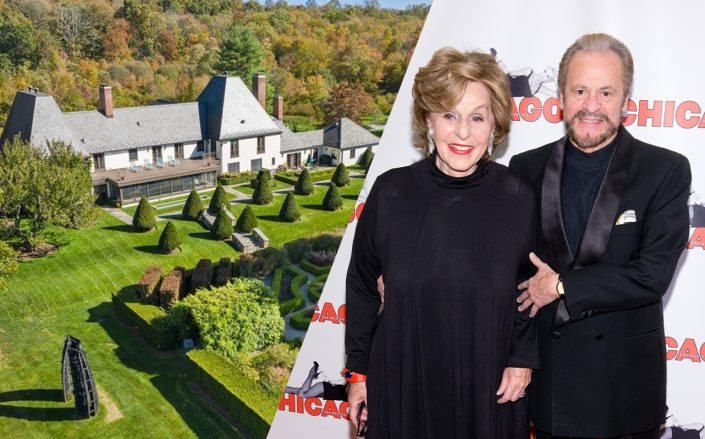 35 Schoolhouse Road and Fran and Barry Weissler (Photos via Realtor and Getty)