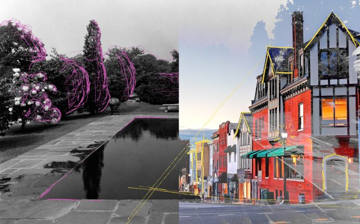 Greenwich; 1937 and today (Getty, iStock)