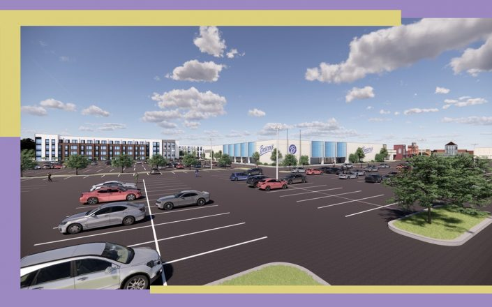 A rendering of Moorestown Mall (Courtesy of PREIT)