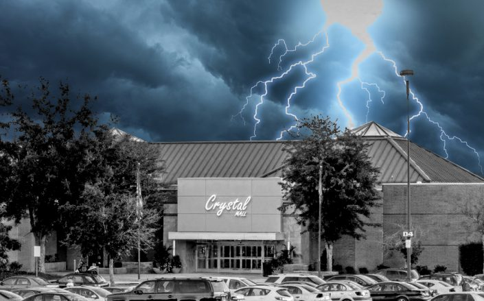 Crystal Mall in Waterford, Connecticut (Crystal Mall via Facebook, Getty)