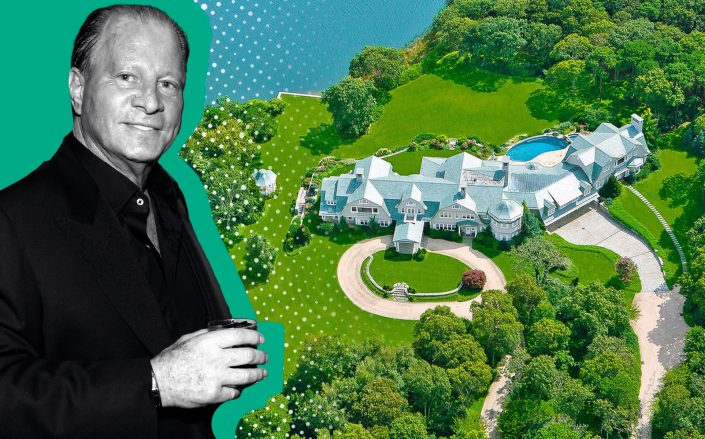 Stewart Rahr and Hamptons estate in Wainscott (Getty, Bespoke Real Estate)