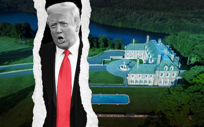 Seven Springs in Westchester and Donald Trump (Trump Organization, Getty)