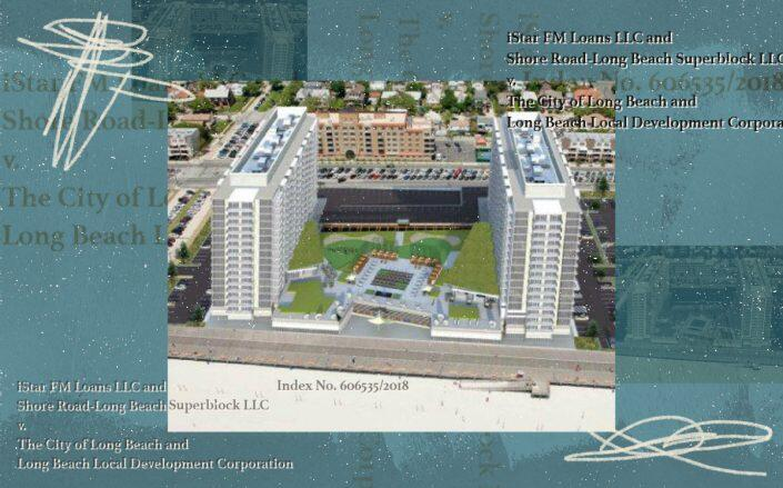 Rendering of the proposed Superblock project (iStar, Long Beach City Council)