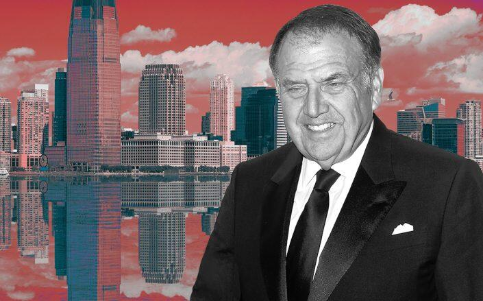 Richard Lefrak and Jersey City (Getty, iStock)