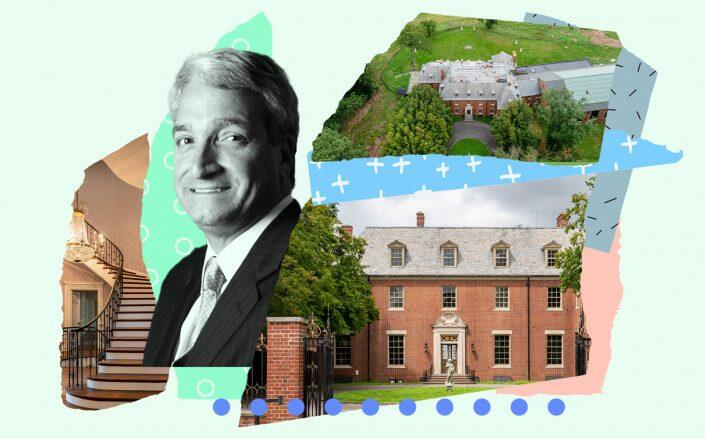 Sciame Construction CEO Frank Sciame and the Gold Coast Mansion