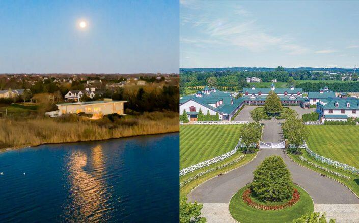 The Point at Water Mill and 6 West Pond Road in Bridgehampton (Sotheby's, Out East)