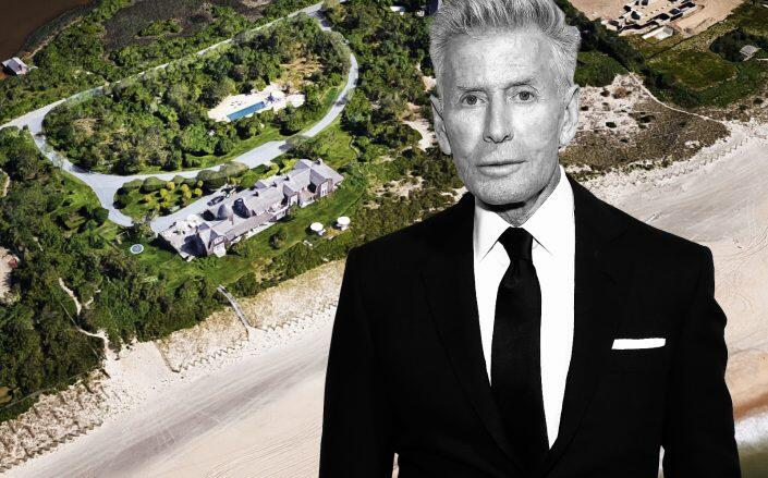 Calvin Klein and the property (Getty, Google Maps)