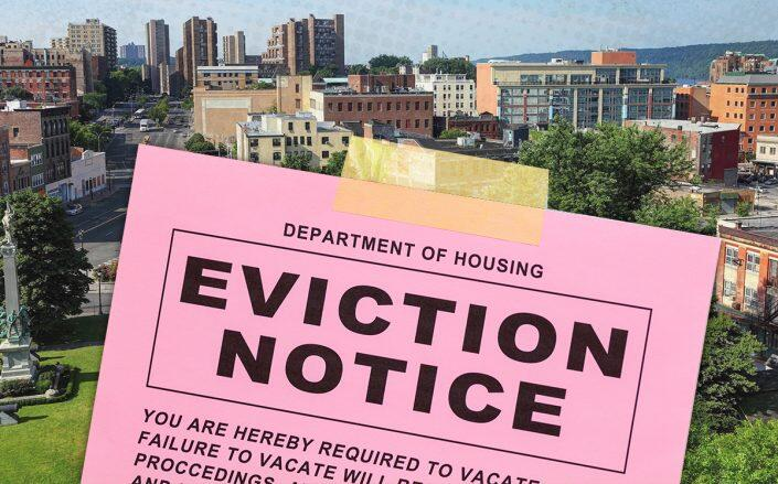 Westchester County leads state in evictions outside NYC