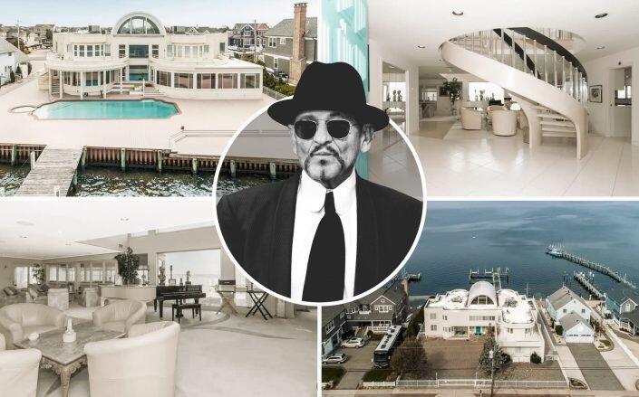Joe Pesci and the waterfront New Jersey home (Getty, Re/Max Central)