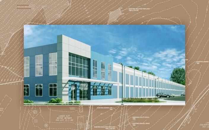 Renderings of the project (RDM Group)