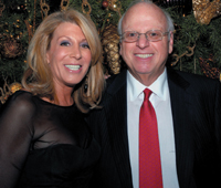 Elliman's Dottie Herman and Howard Lorber