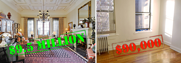 priciest units new york city cheapest nyc apartments