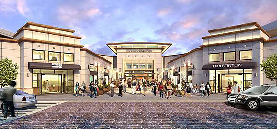 New York Developers To Build Suburban Style Mall In The: The Mall At Bay Plaza