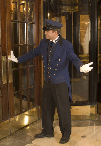how to become a doorman
