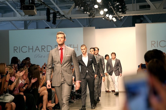 Oren Alexander Ryan Serhant Fashion Week