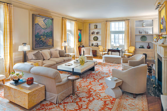 765-Park-Avenue-living-room | The Real Deal New York