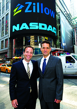 Zillow CEO Spencer Rascoff and StreetEasy CEO Michael Smith rang the NASDAQ Stock Market opening bell last month, shortly after the announcement that Zillow would acquire StreetEasy