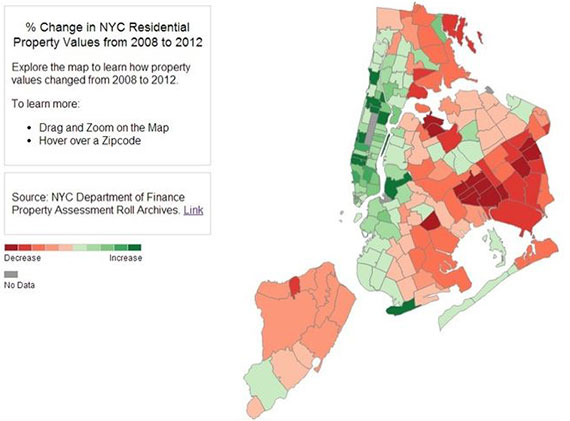 Neighborhood Affordability NYC  Changing Home Costs NYC
