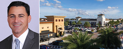 From left: Danny Finkle and the Shops at Pembroke Gardens