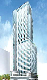 A rendering of Avalon Willoughby West, which will be Brooklyn's tallest tower when completed