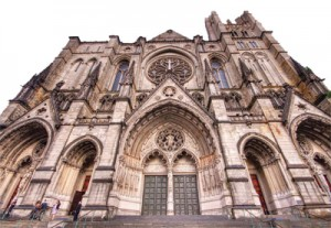 Last month, the Brodsky  Organization leased the land adjacent to St. John the Divine from the Episcopal cathedral. The developer is planning a project with 428 apartments on the site.