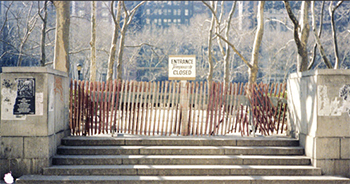 Bryant Park in 1983, before its restoration