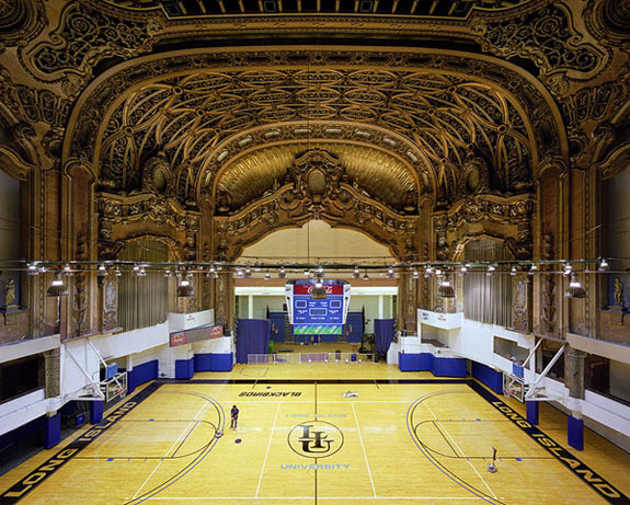 Liu Athletic Center Brooklyn Paramount Theatre