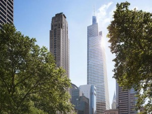 A rendering of SL Green's One Vanderbilt (Credit: Kohn Pedersen Fox)