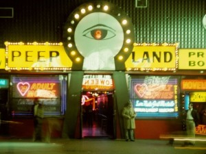 A grittier Times Square in the 1980s