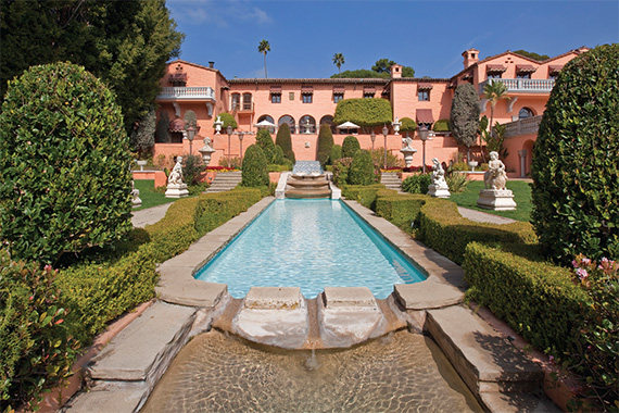 The Beverly House was the priciest residential property on the U.S. market, at $135 million. The Beverly Hills  estate of William Randolph Hearst is full of the lavish touches for which the publishing magnate was known.