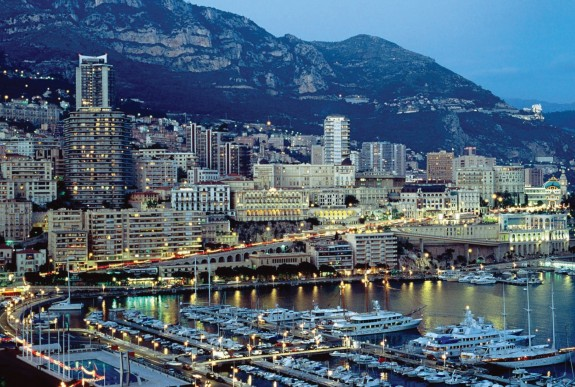 Tiny Monaco,which is occupied almost entirely by Monte Carlo, is home to the most expensive residential real estate in the world.