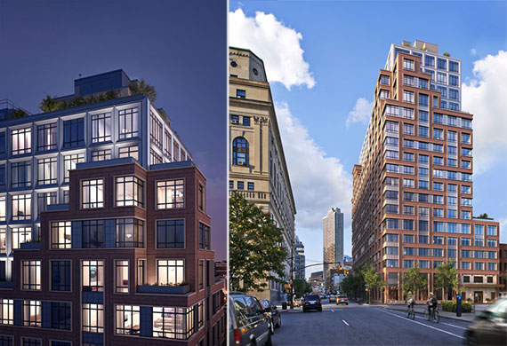 Renderings of The Boerum at 265 State Street in Brooklyn