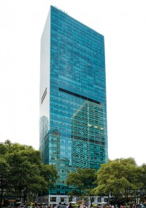 The priciest building deal of 2014 was Blackstone Group's $2.25 billion sale of the 1.2 million-square- foot Midtown office tower 1095 Sixth Avenue, to Canadian property investor Ivanhoe Cambridge and Chicago-based Callahan Capital Partners.