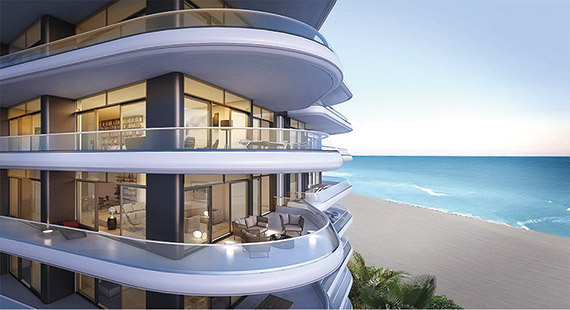 New Yorkers made up 90 percent of the buyers at Faena House, a luxury condo building in Miami.