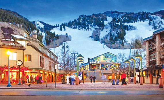 Aspen's privacy and exclusivity draws New Yorkers year-round.